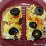 Healthy, Delicious, & Easy Open Face Egg Salad Sandwich | #NSNation #Recipe