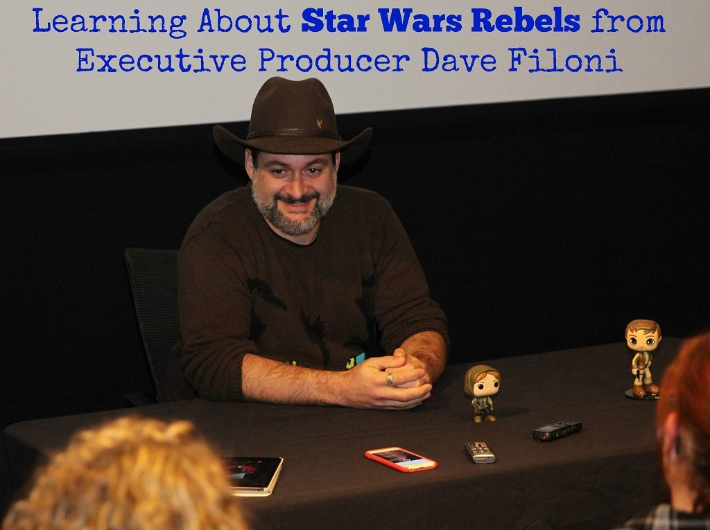 Learning About Star Wars Rebels from Executive Producer Dave Filoni