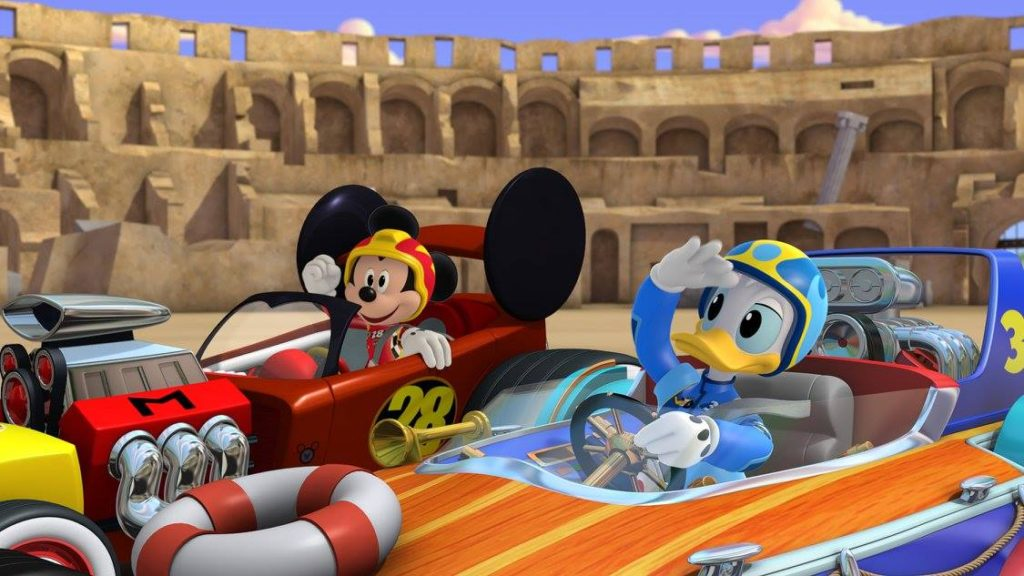 Mickey and the Roadster Racers (2)