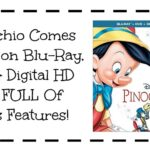 Pinocchio Comes Home on Blu-Ray, DVD, & Digital HD Today FULL Of Bonus Features! | #PinocchoBluray #Pinocchio