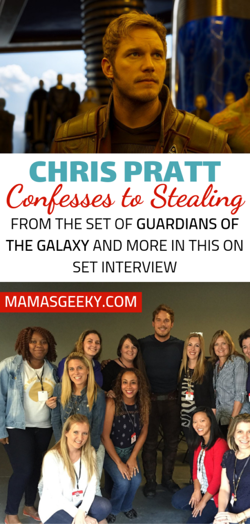 Chris Pratt Guardians of the Galaxy Set Interview