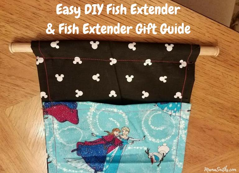 Easy DIY Fish Extender & Fish Extender Gift Guide