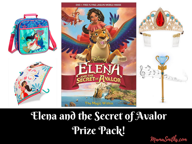 Elena and the Secret of AvalorPrize Pack!