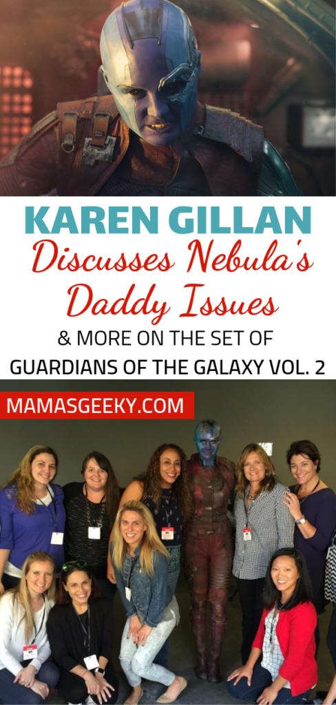 Karen Gillan Nebula GotG 2 interview