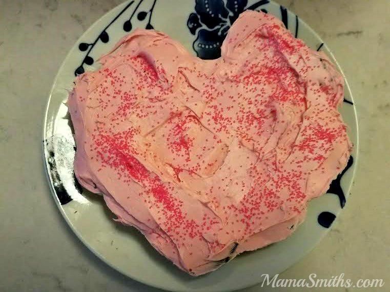 Otis Spunkmeyer VDAY Cake