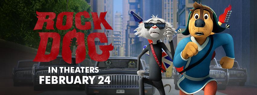Rock Dog Banner
