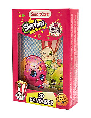 shopkins 3d bandages