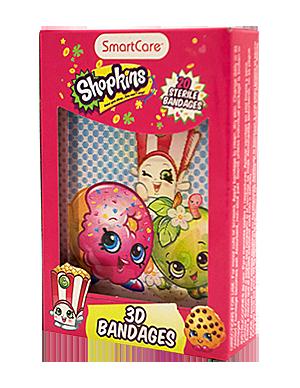 shopkins 3d bandages