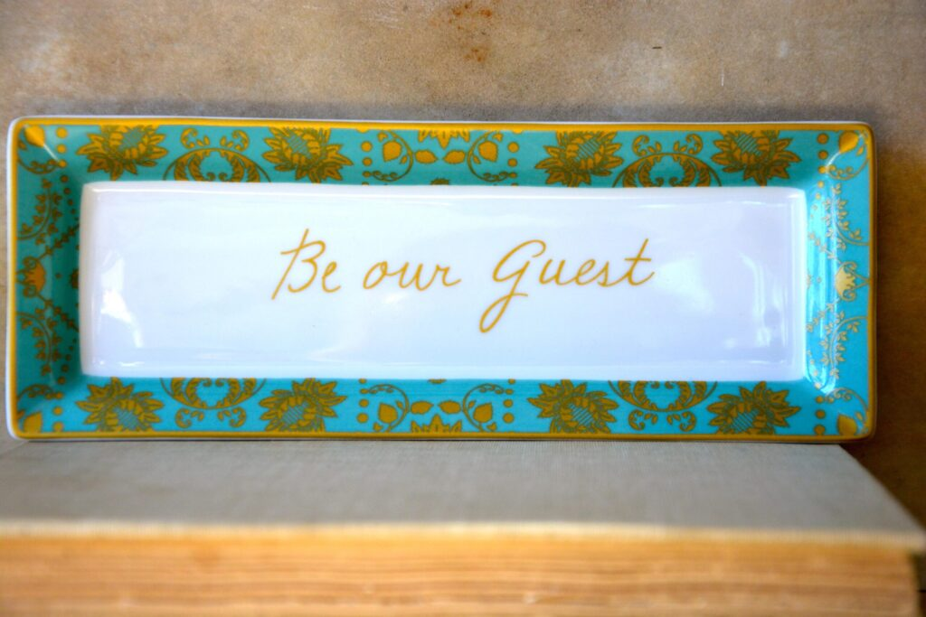Patina Vie Be Our Guest Tray