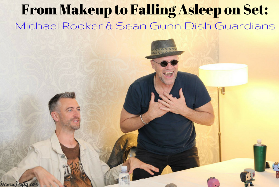 From the Makeup to Falling Asleep on Set Michael Rooker and Sean Gunn Dish Guardians