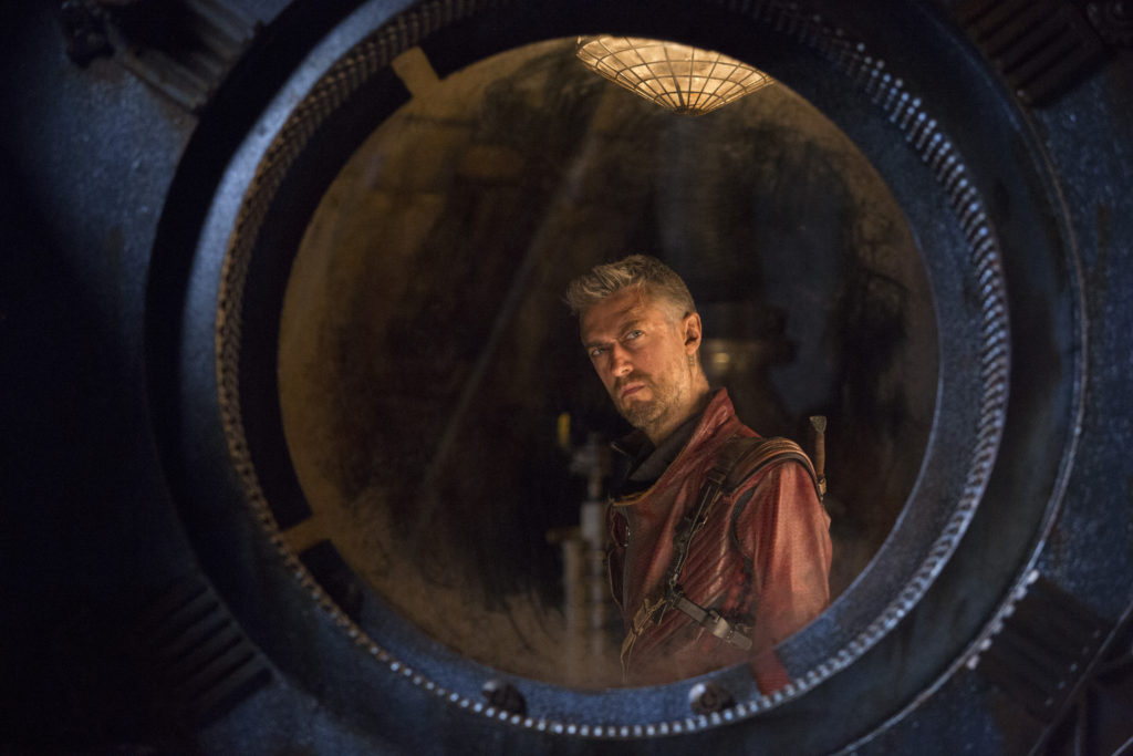 Sean Gunn/Kraglin Guardians of the Galaxy Volume 2