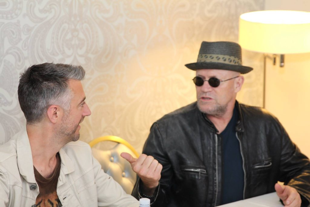 Michael Rooker and Sean Gunn Guardians of the Galaxy Vol 2