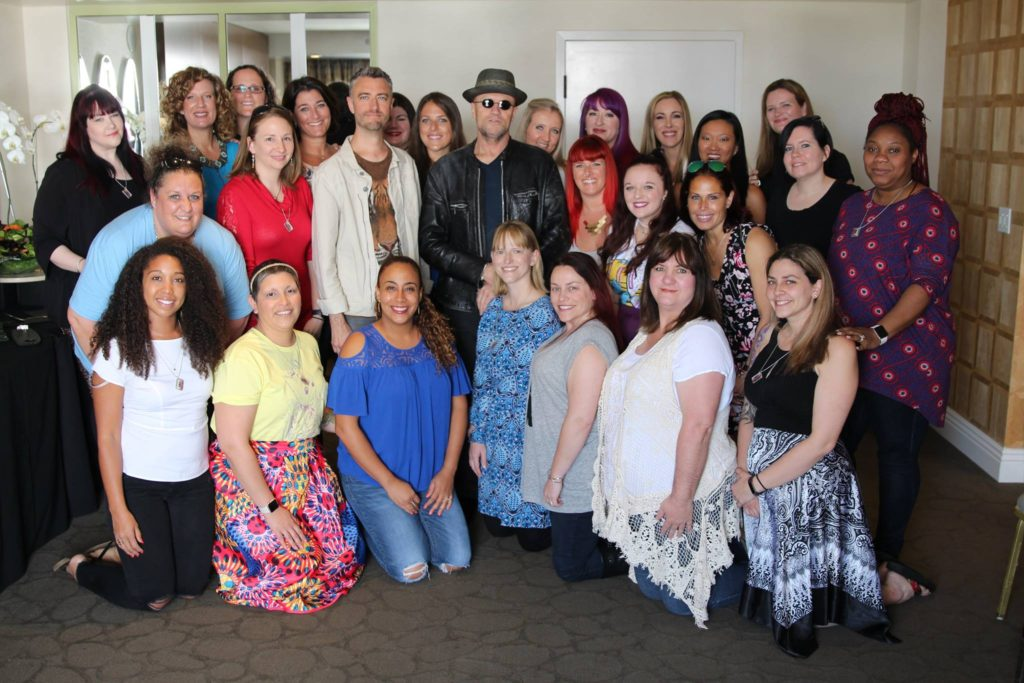 Mommy Bloggers with Michael Rooker and Sean Gunn Guardians of the Galaxy