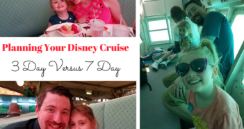 Planning Your Disney Cruise- 3 Day Versus 7 Day Voyage