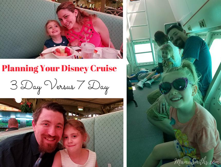 Planning Your Disney Cruise- 3 Day Versus 7 Day Voyage