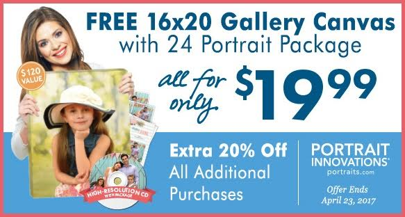 Portrait Innovations Spring Deal
