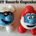 DIY Smurf Cupcakes  | #SmurfsMovie #Cupcakes