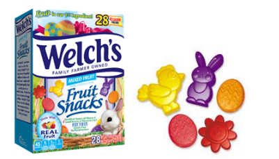Welch's Frut Snacks Easter