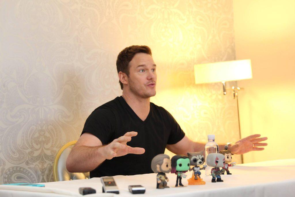 Chris Pratt/Star-Lord Guardians of the Galaxy Vol 2