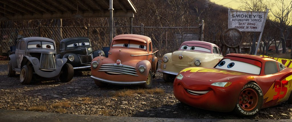 CARS 3 Meet the Legends