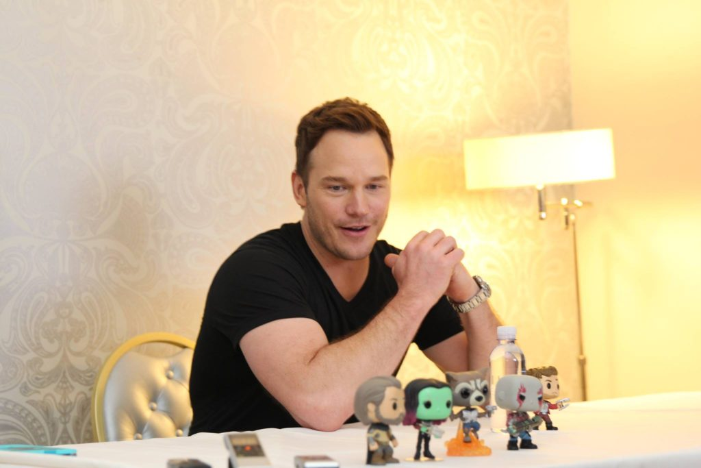 Chris Pratt/Star-Lord Guardians of the Galaxy Vol 2