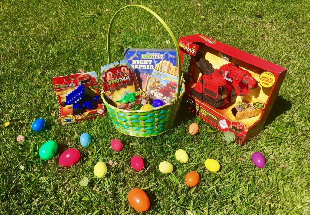 Dinotrux Easter Basket