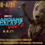 Walking the #GotGVol2 Red Carpet, #DWTS Dance Lesson, & More in LA 4/18-4/21! | #GotGVol2Event #Descendants2Event