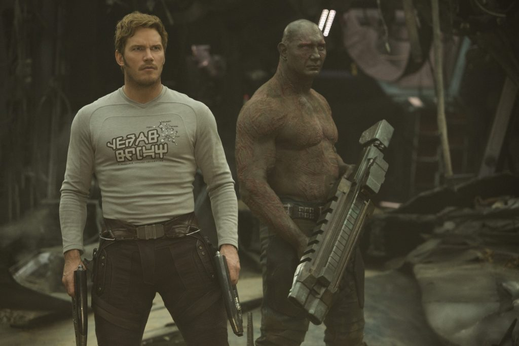 Star-Lord and Drax