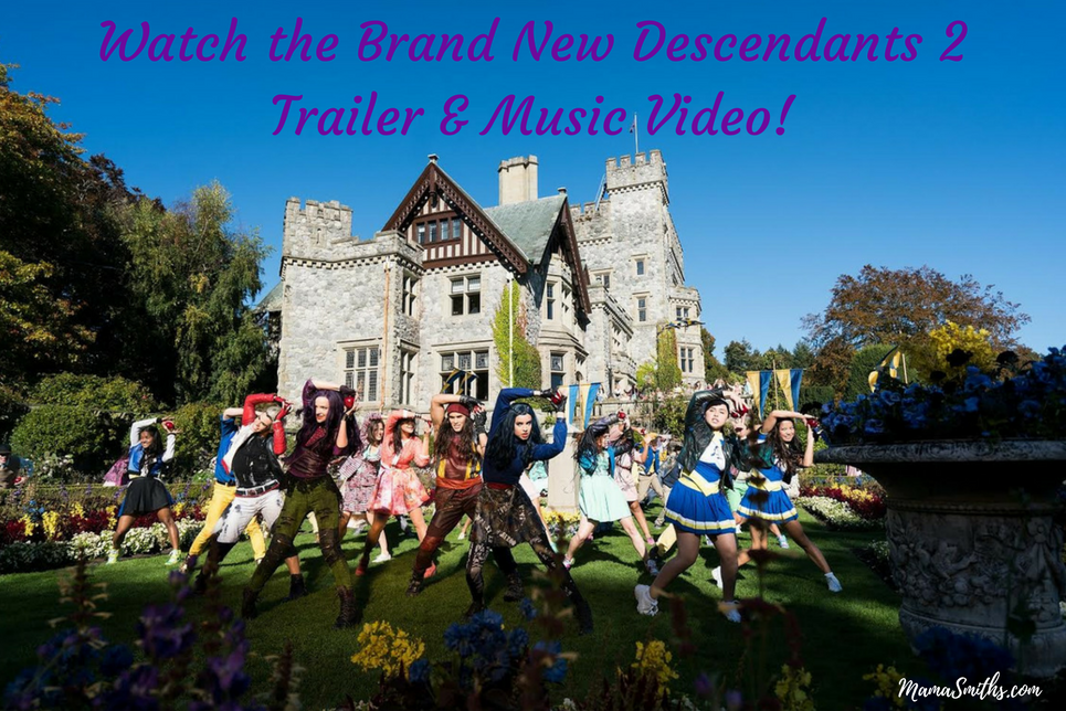 Watch the Brand New Descendants 2 Trailer & Music Video!