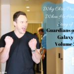 Why Chris Pratt Cried When He Heard the Story of Guardians of the Galaxy Vol. 2