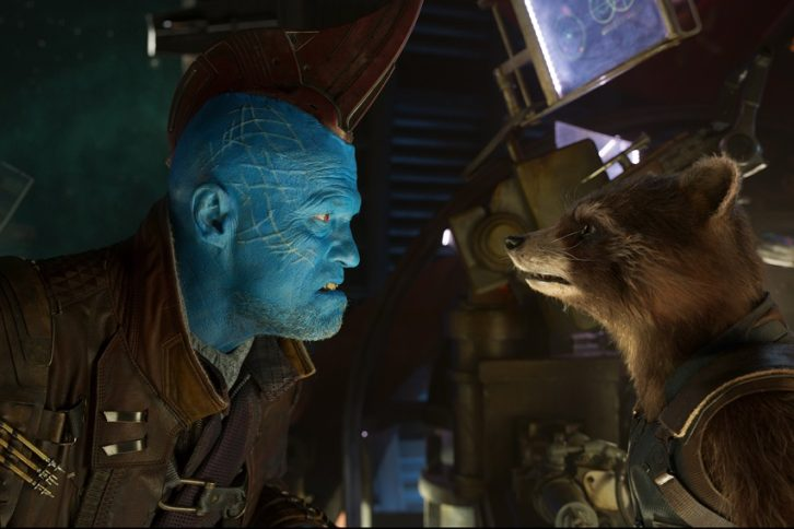 Yondu and Rocket Racoon