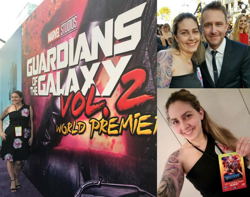gotg vol 2 red carpet