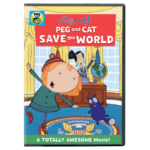 Peg + Cat: Peg and Cat Save the World Hits DVD 5/23