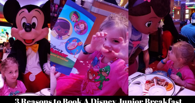 3 Reasons to book a Disney Junior Breakfast on Your Next Disney Cruise