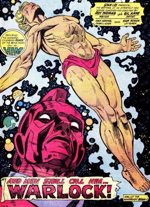 Thanos Adam Warlock