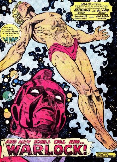 Thanos Adam Warlock
