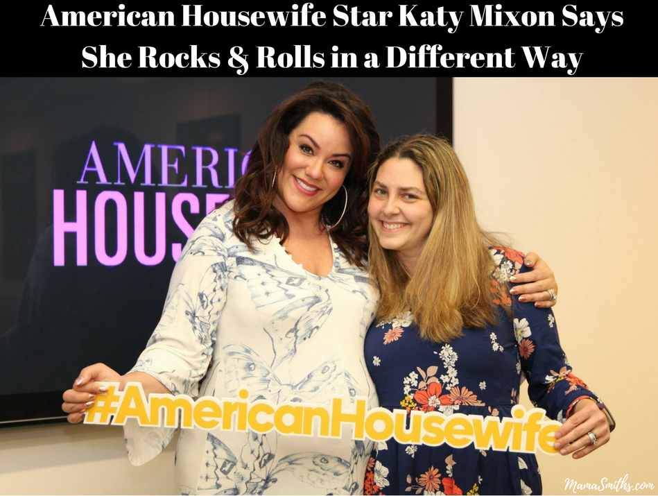 American Housewife Star Katy Mixon Says She Rocks & Rolls in a Different Way