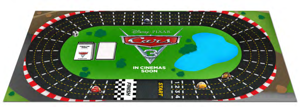Cars 3 Board Game