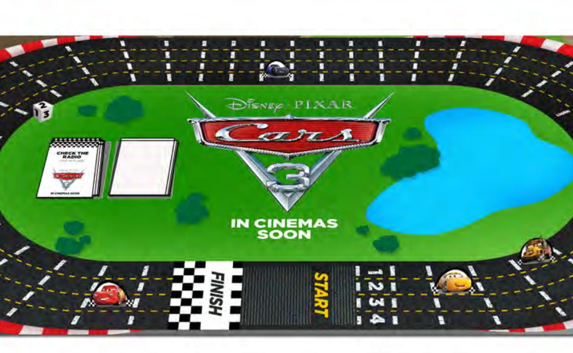 Cars 3 Board Game