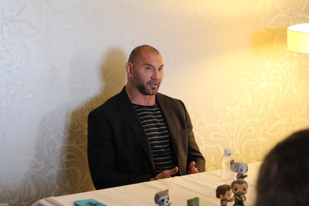Dave Bautista/Drax Guardians of the Galaxy Volume 2