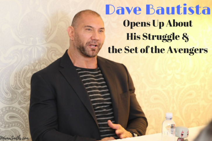 Dave Bautista Opens Up About His Struggle & the Set of the Avengers