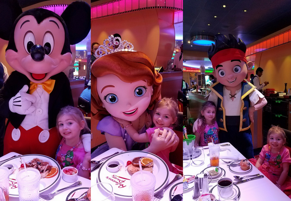 Disney Cruise Disney Junior Breakfast Characters