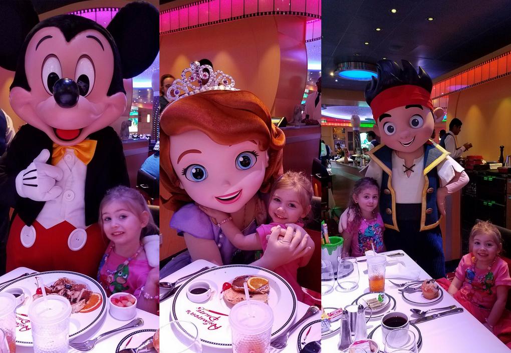 Disney Cruise Disney Junior Breakfast Characters