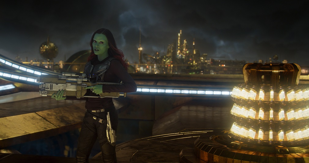 Gamora Guardians of the Galaxy Volume 2