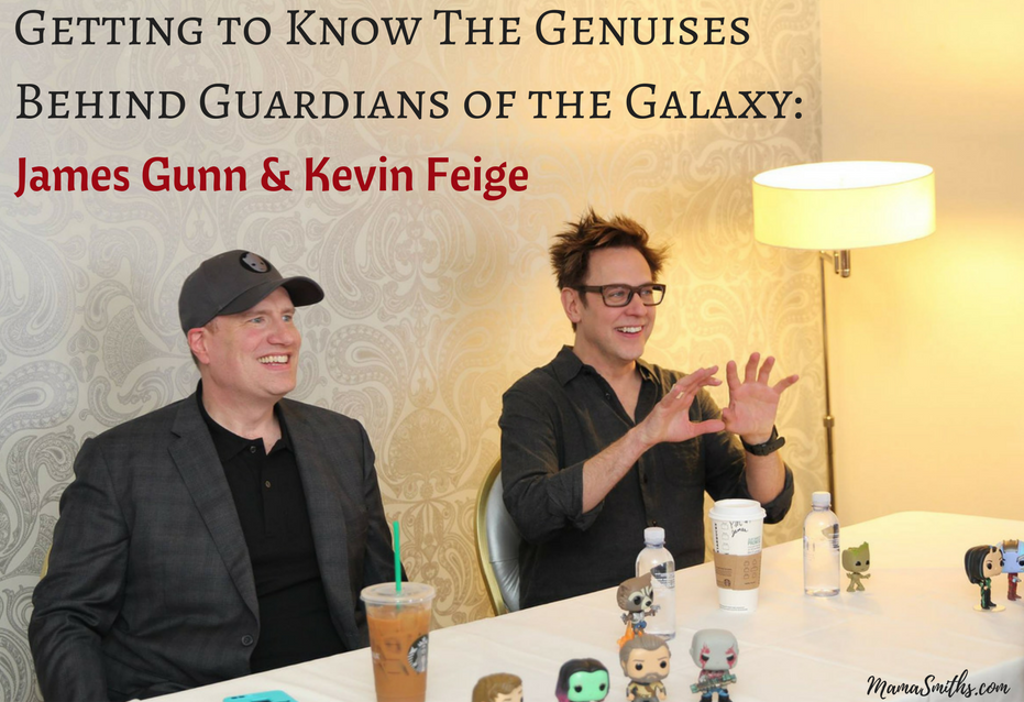 Getting to Know The Genuises Behind Guardians of the Galaxy- Director James Gunn & Marvel President Kevin Feige