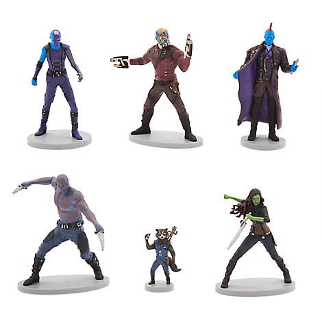 Guardians of the Galaxy Vol 2 Figurine Set