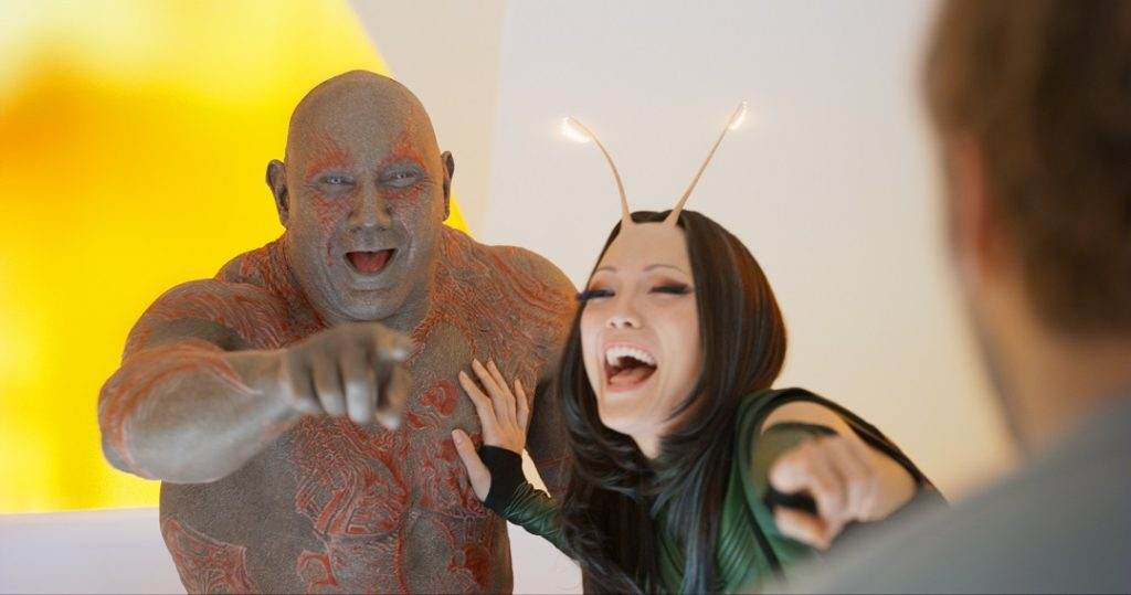 Mantis and Drax