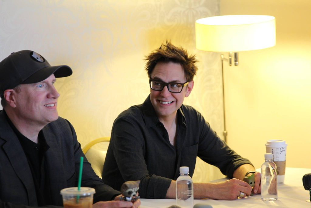 James Gunn and Kevin Feige Guardians of the Galaxy Vol 2 (6)