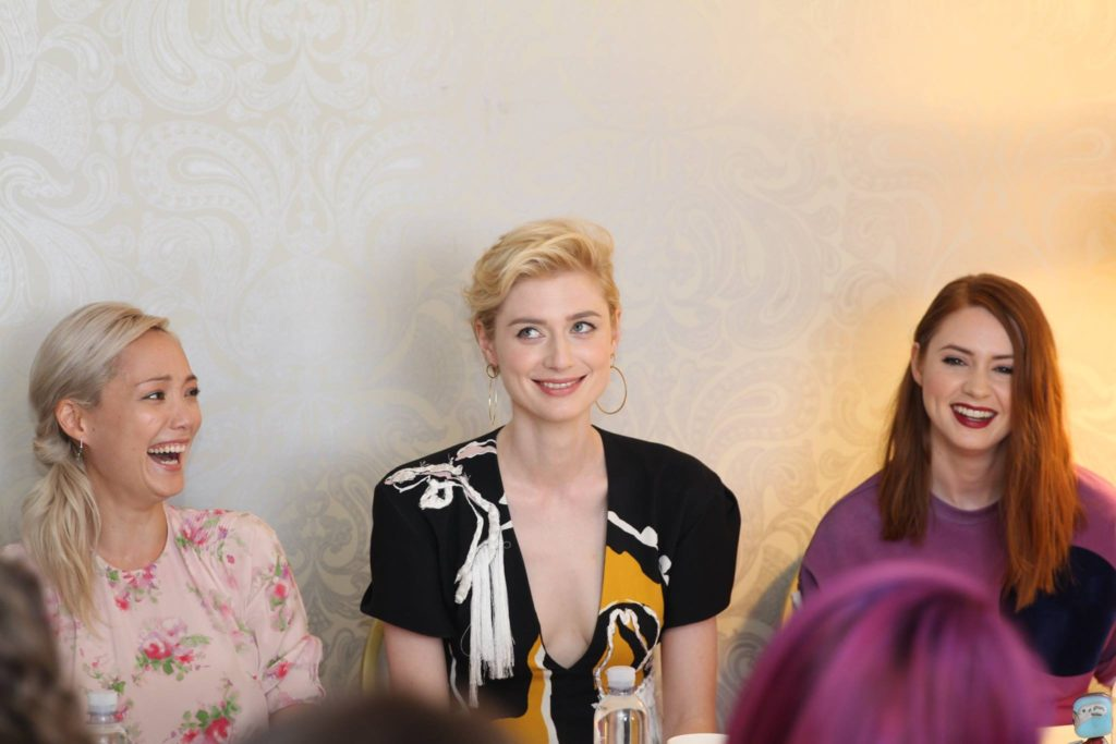 Karen Gillan, Pom Klementieff, & Elizabeth Debicki Guardians of the Galaxy
