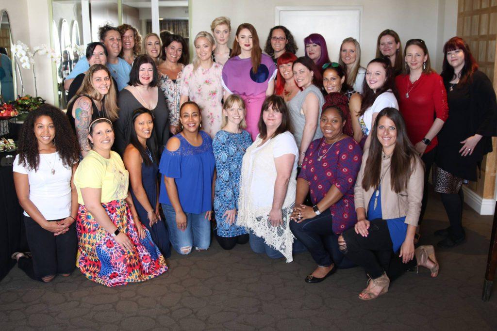Mommy Bloggers with Karen Gillan, Pom Klementieff, & Elizabeth Debicki